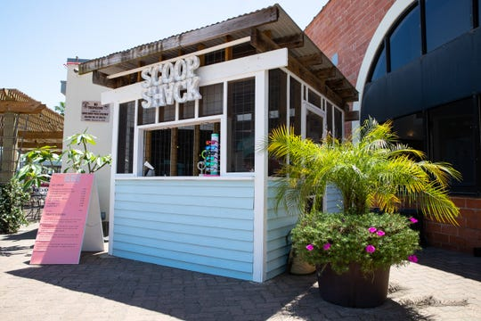 Scoop Shack, a new ice cream shop located in the Water Street Market in downtown Corpus Christi.