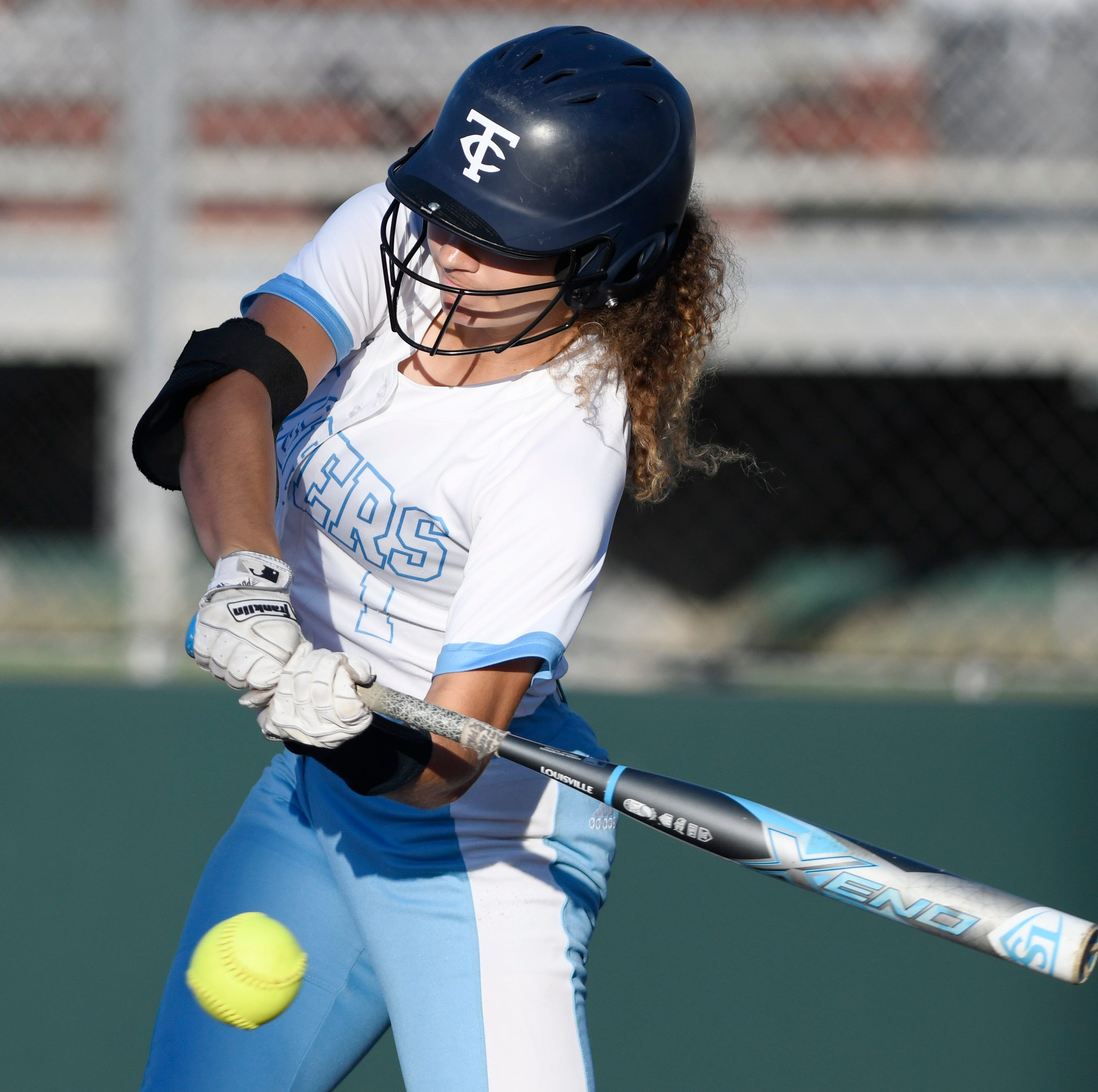 Carroll sweeps Gregory-Portland in high school softball playoffs