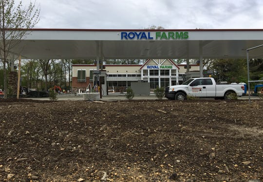 This Royal Farms store was being completed a few weeks ago and opened recently off Route 38 near Larchmont Boulevard. Another Royal Farms was scheduled to be built at the Sunbird Plaza in Marlton, but those plans have now changed.