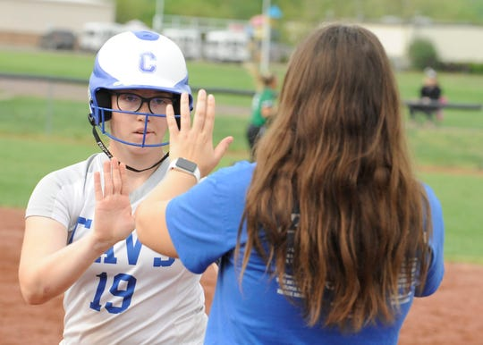 Chillicothe softball's Jayla Brown earned All-FAC honors on Tuesday.