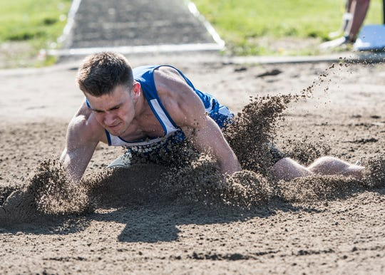 Lane Ruby soared passed the Huntington Invitational long jump record with a distance of 21 feet, 7.25 inches on Monday, April 22, 2019, with the previous record set by Zane Trace's Nate Newman who jumped 20 feet, 11 inches in April of 2012.