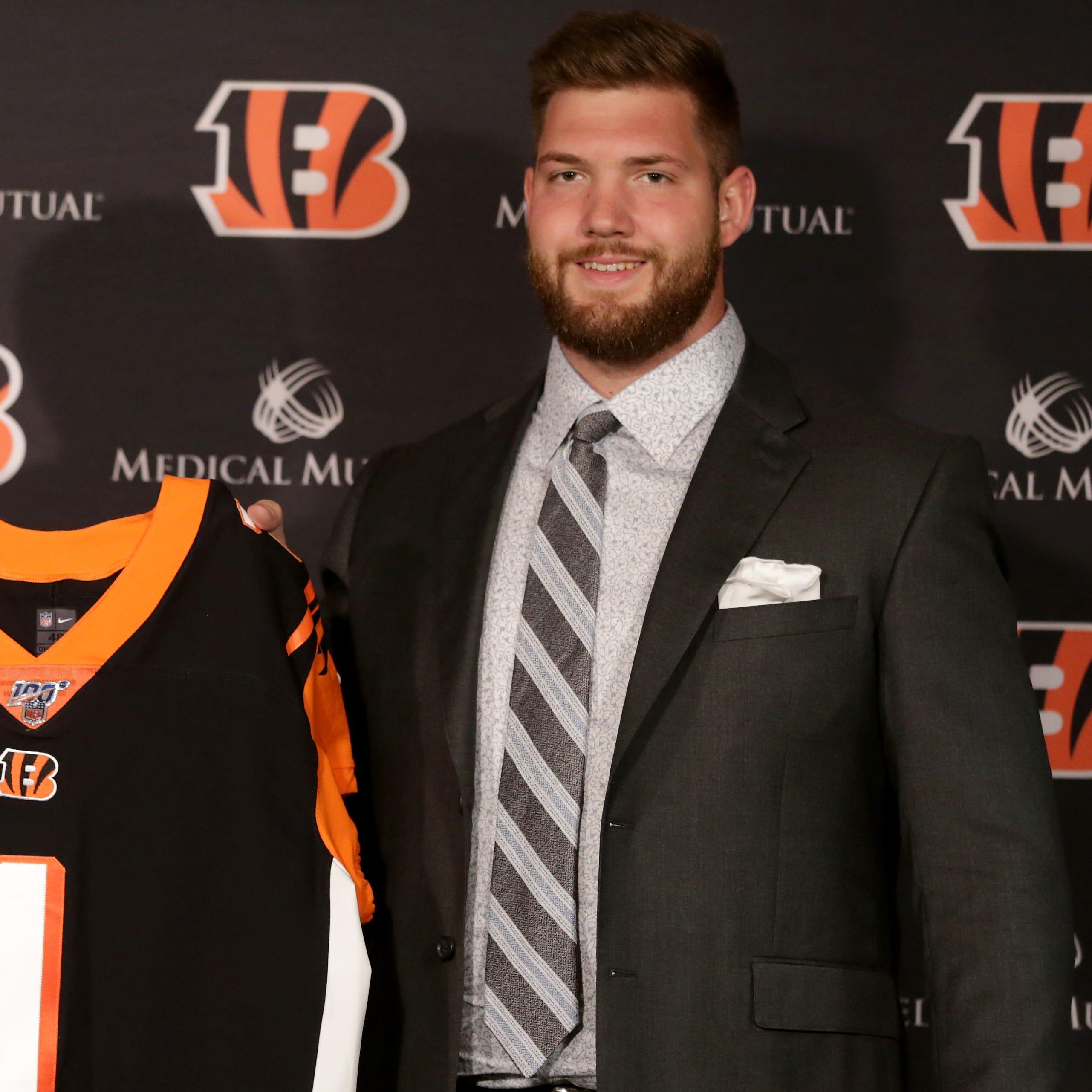 Live Cincinnati Bengals 2019 NFL Draft tracker