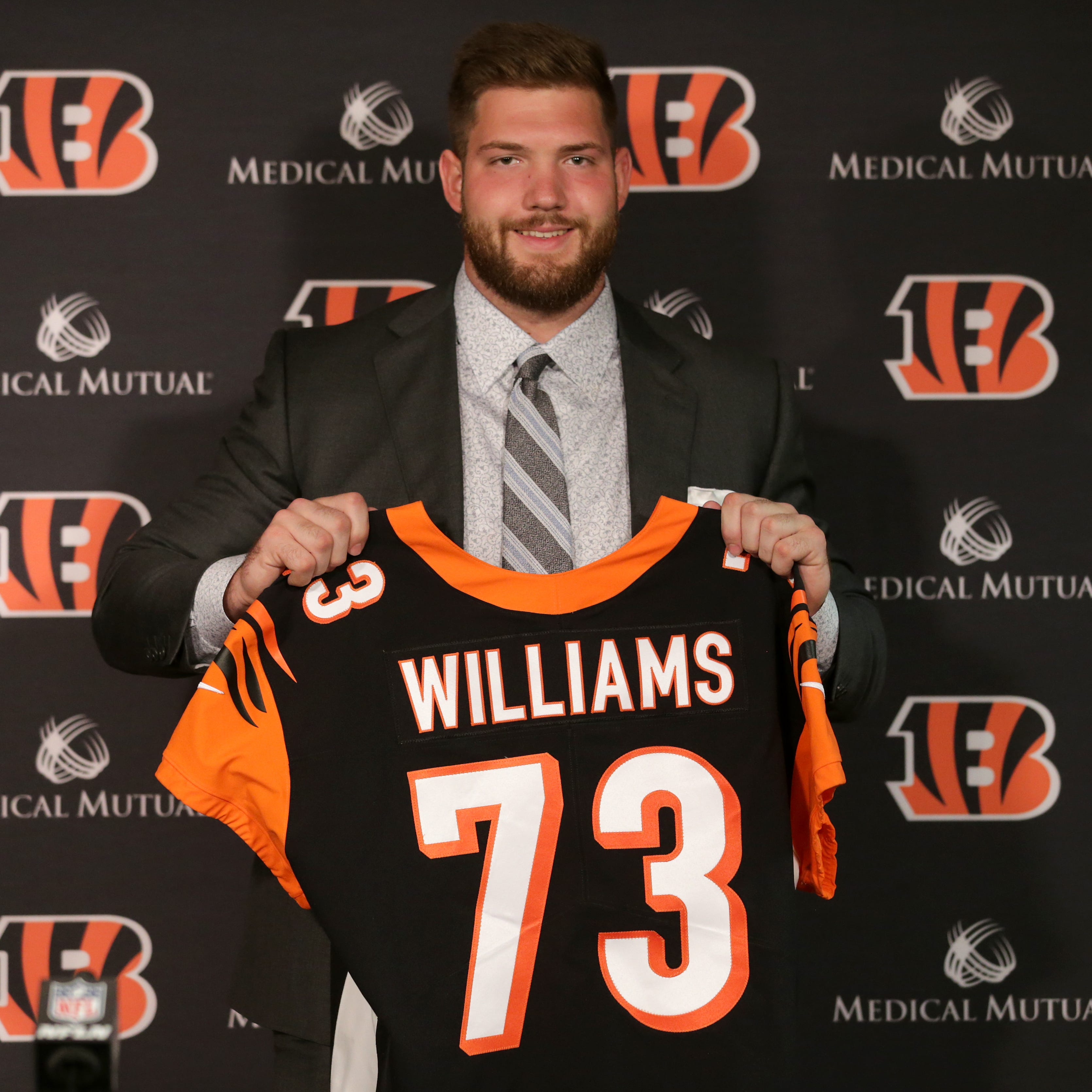 Cincinnati Bengals sign NFL Draft picks: tackle Jonah Williams and tight end Drew Sample