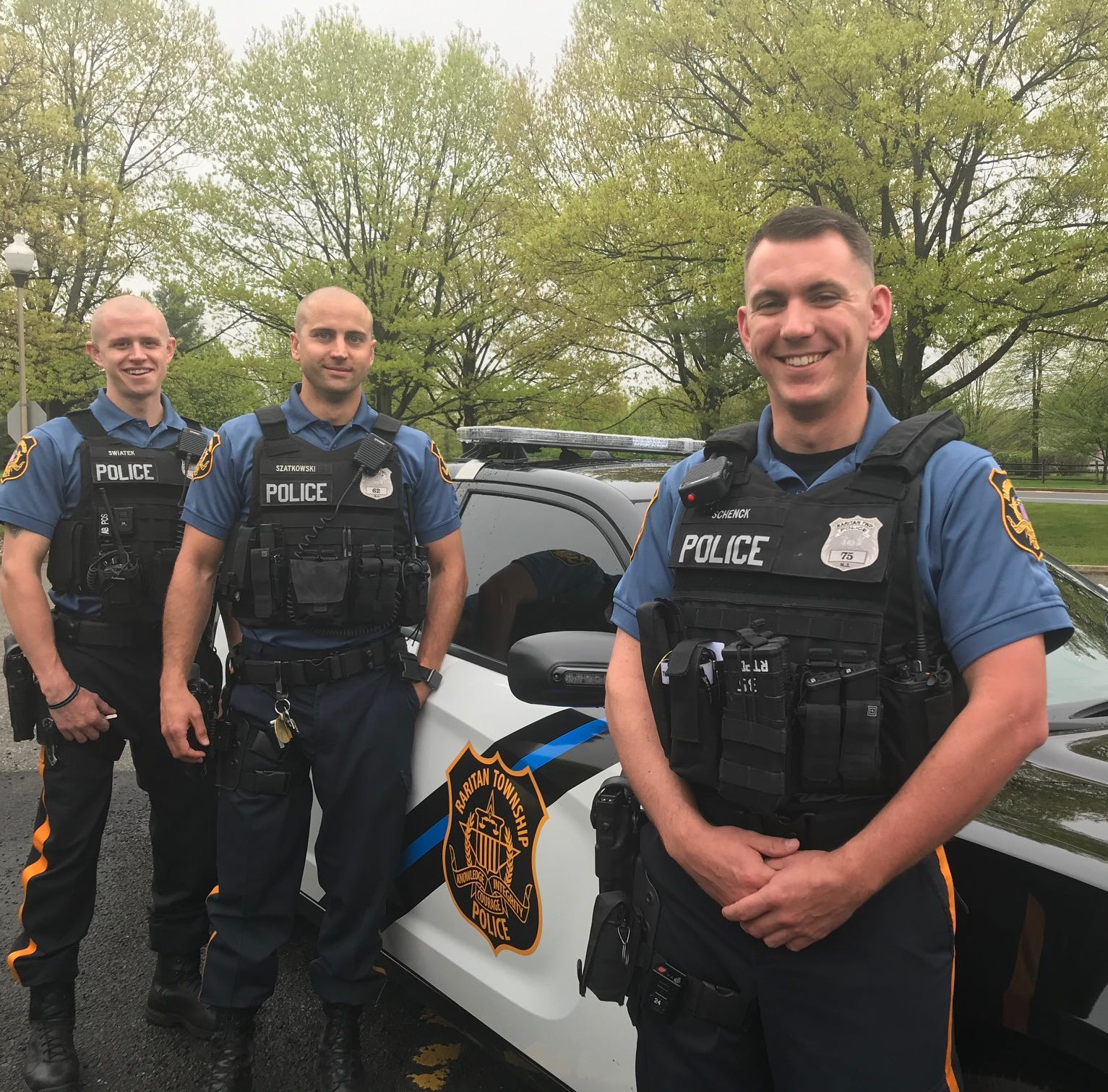 Hero Raritan Township police officers to be honored for disabled woman's fiery rescue