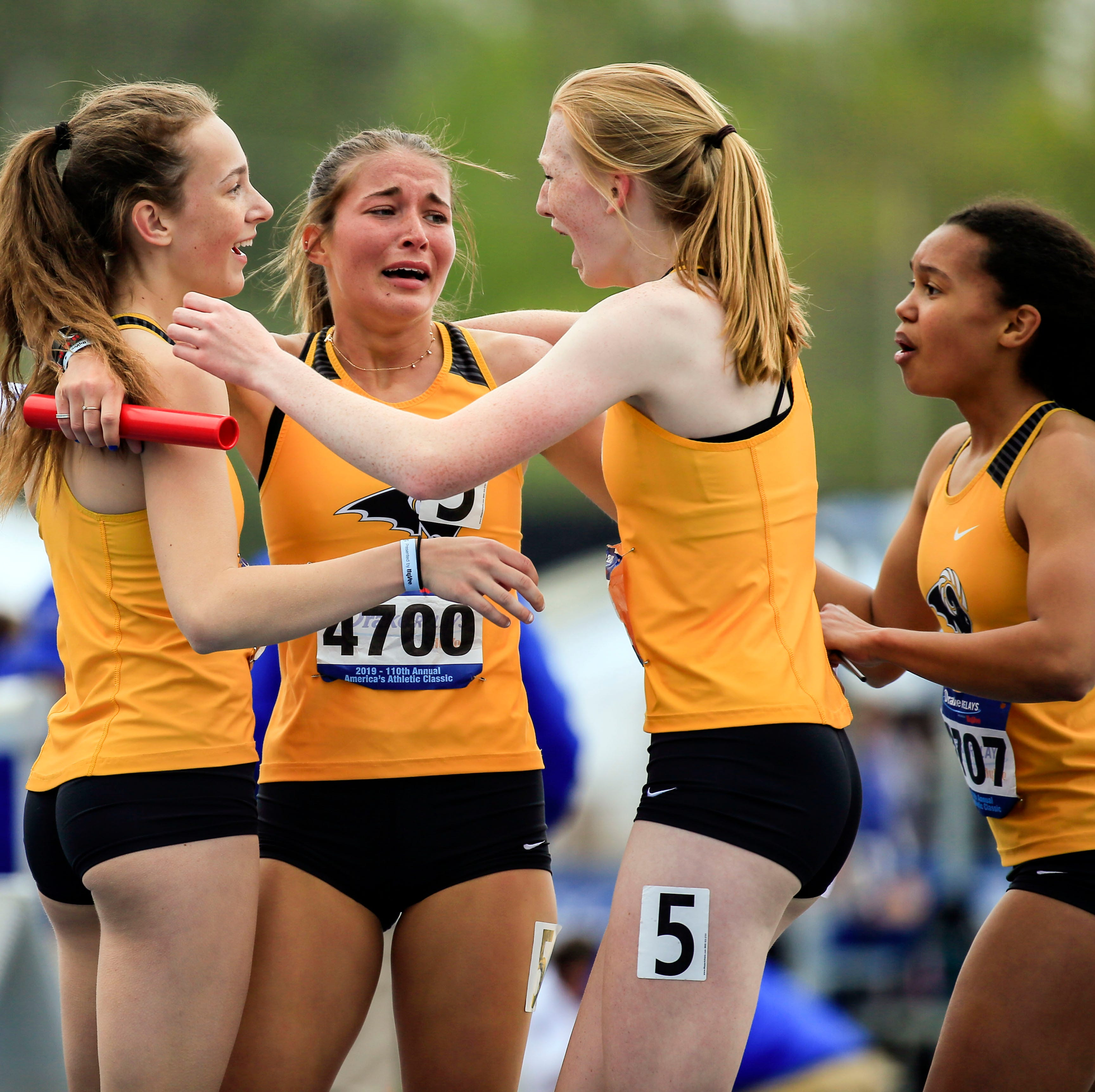 Altoona sports notebook: Rams girls earn gold at Drake Relays