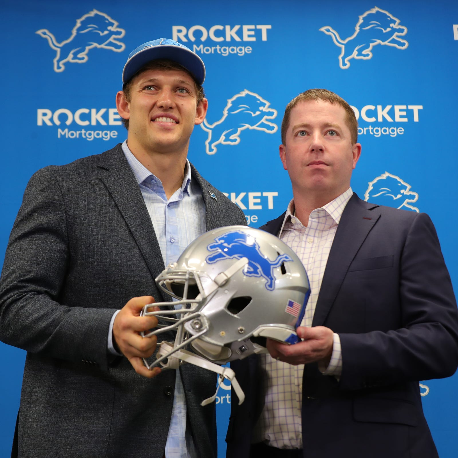 Lions' draft haul got you feeling blue? Bob Quinn doesn't give a damn