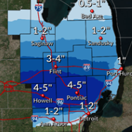 About that snow: Up to 5 inches expected in parts of metro Detroit this weekend