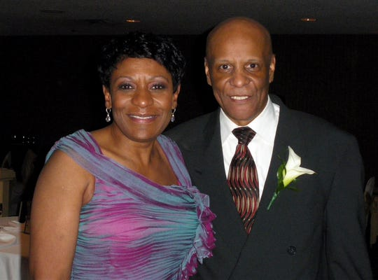 Gerri and Brent Jones at their April 17, 2010 wedding.