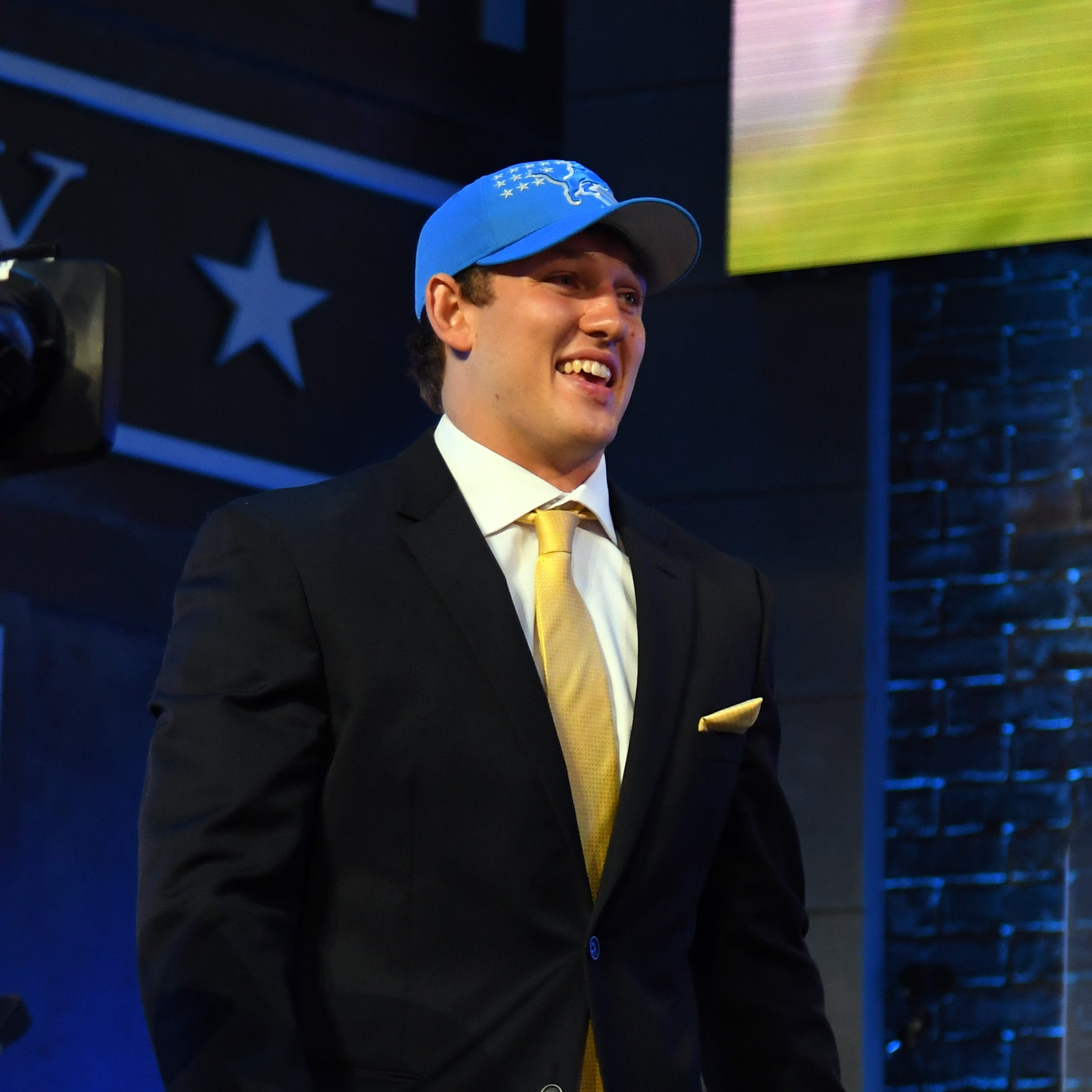 NFL draft, Day 2: Everything you need to know about Detroit Lions, tonight