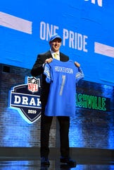 The Lions' 2019 first-round pick, T.J. Hockenson, also played basketball in high school in Iowa.