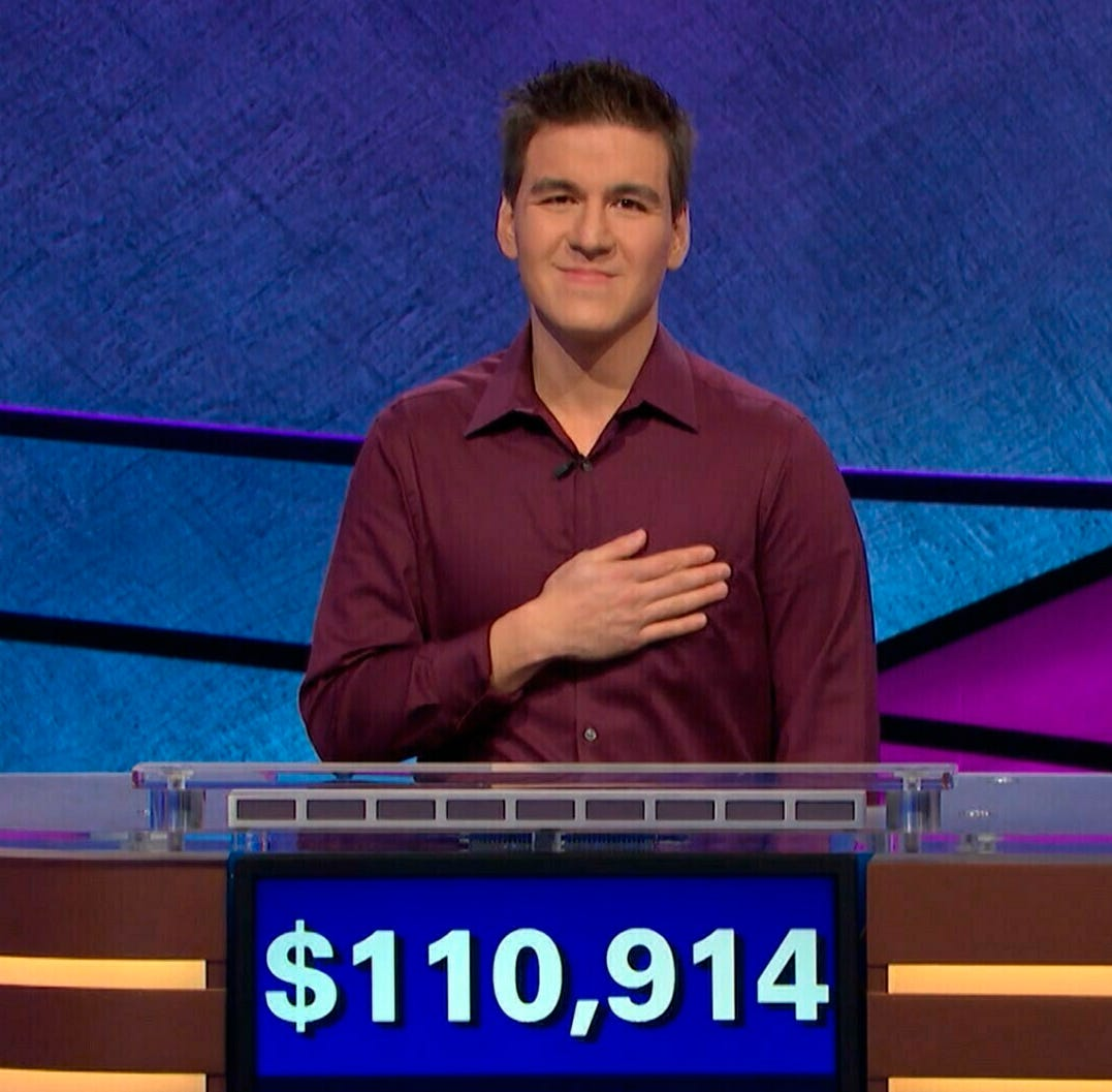 What 'Jeopardy' champion James Holzhauer teaches us about success