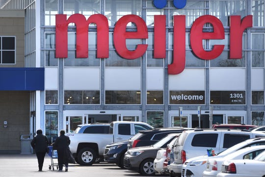 The Meijer store at Woodward and Eight Mile frequently reports shoplifting incidents.