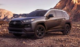 The 2020 Toyota RAV4.