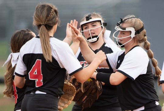 The Blue Ridge High School softball team defeated Pickens, 9-0, in the first round of the Class AAAA District 2 playoffs.