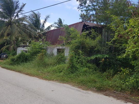 The San Nicolas house is shown in this April 25, 2019 photo. The Guam Preservation Trust will reconstruct the home and put a museum for Father Jesus Baza Duenas.