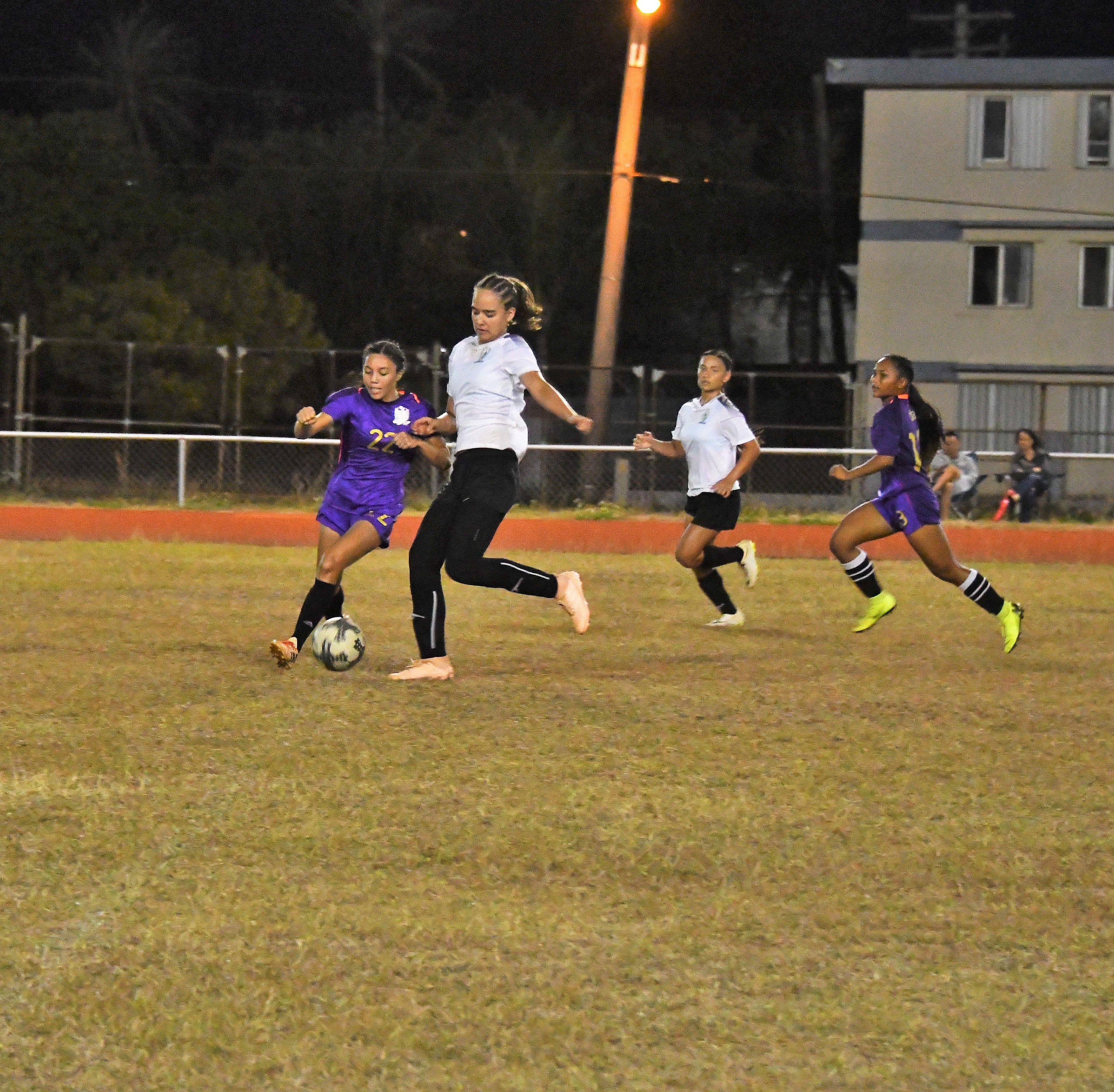 Academy Cougars blank GW Geckos 8-0 in girls soccer