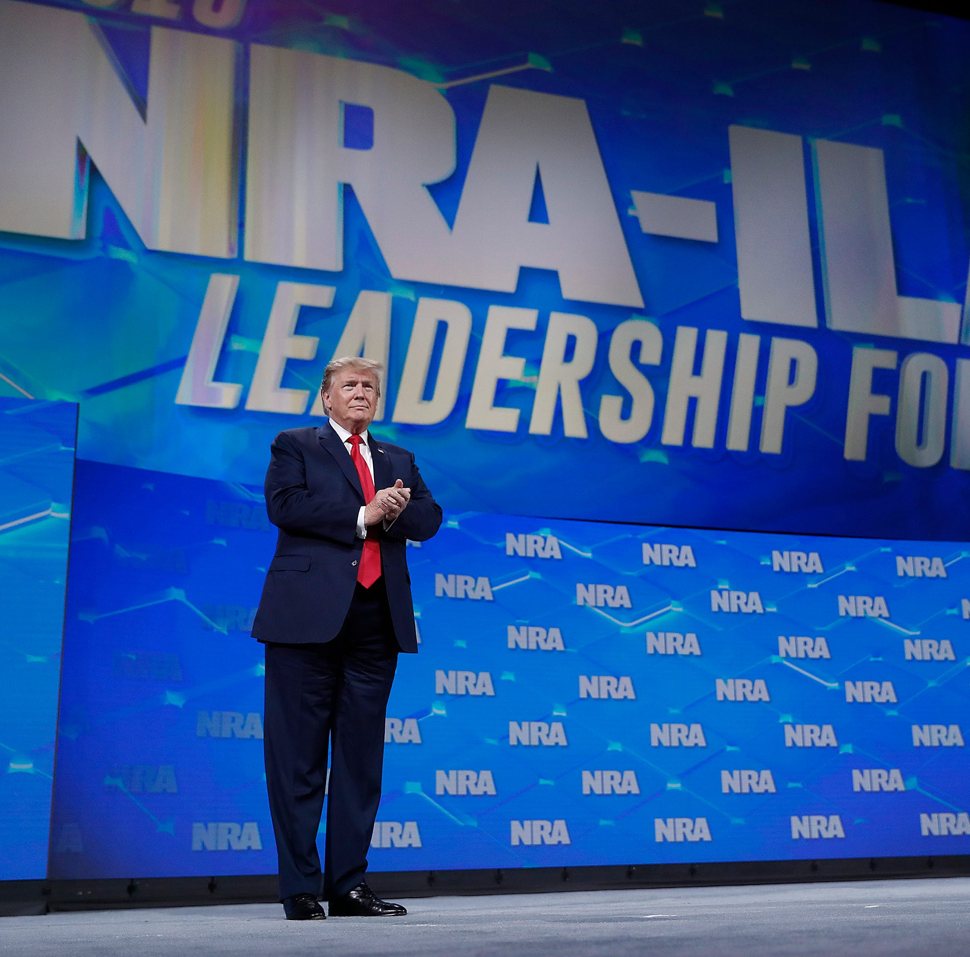 Watch video of President Donald Trump's speech at NRA convention in Indianapolis
