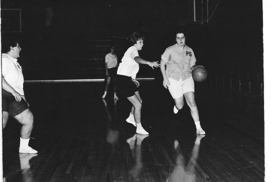Pat Grimm (right)