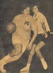 Pat Grimm (left)