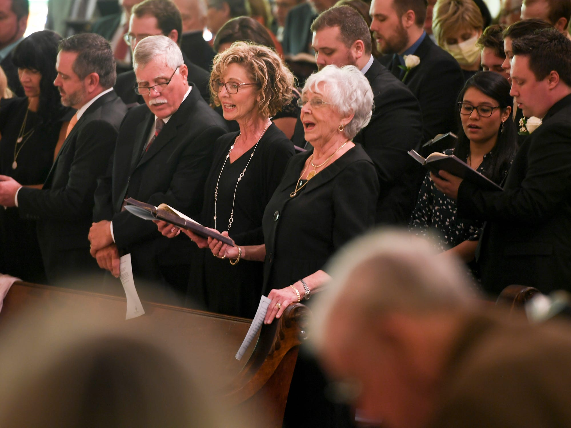 The celebration of life of Henry Harrison was held Friday, April 26, 2019, at First United Methodist Church.