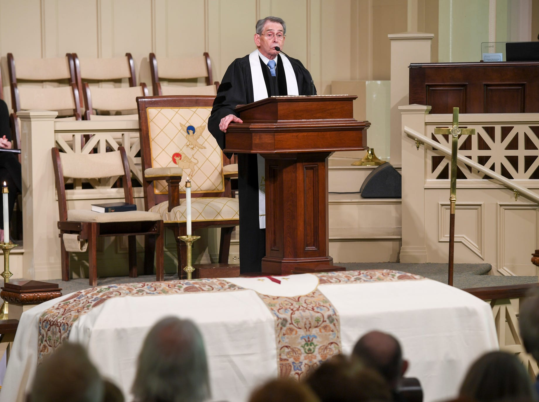 The Celebration of Life of Henry Harrision was held Friday, April 26, at First United Methodist Church.