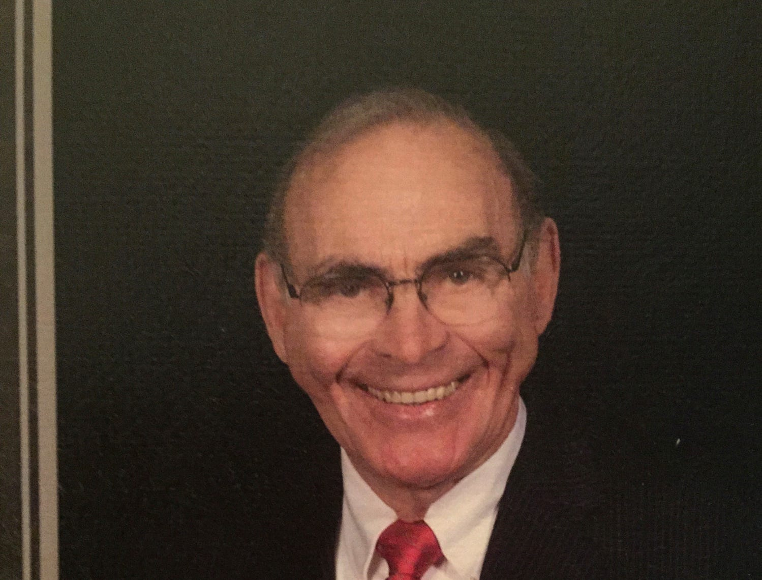 The Celebration of Life of Henry Harrison was held Friday, April 26, at First United Methodist Church.