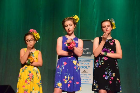"The Sharpettes, Lauryn Baker, Ashtyn Martin and Madison Whitehead, aren't interested in anything that doesn't involve them or Sharpay Evans so they stand aloof during ""High School Musical 2."" 4/25/19"