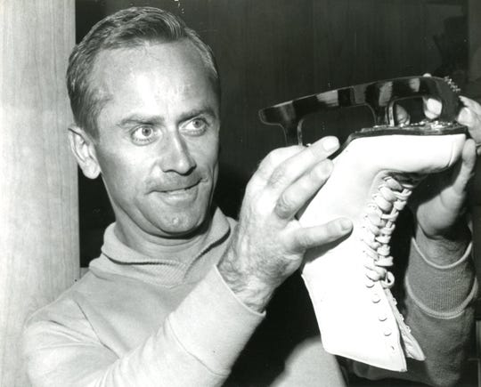 Robert Unger was an instructor at the Ice Chalet and is pictured in a June 1963 photo. The 50th annual Robert Unger Ice Skating Institute competition at the Ice Chalet is May 3-5, 2019.