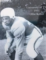 Ollie Keller was a football standout at Maryville High School. A member of the 1951 national championship at team, he later transferred to Memphis.