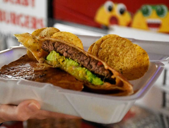The Derby Burger.