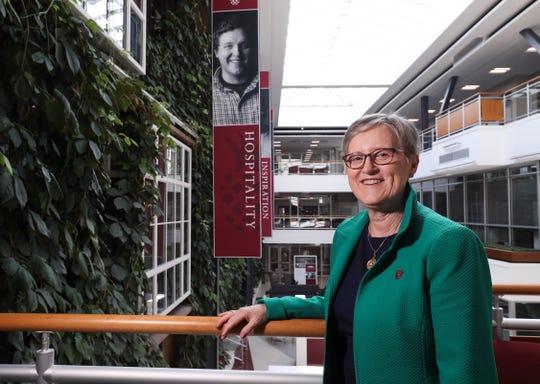 Susan Donovan is the president of Bellarmine University.Apr. 26, 2019