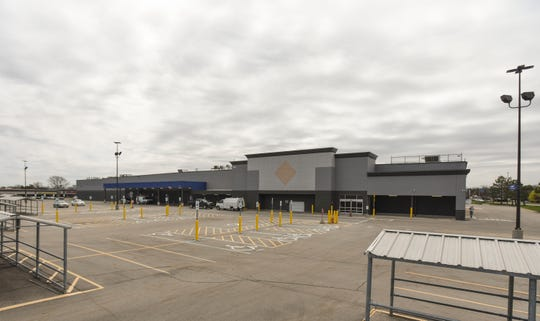 The building that was formerly Sam's Club on Lansing's south side is under renovation, Thursday, April 25, 2019.