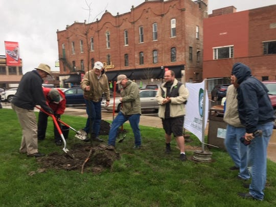Six new trees were planted Friday in Central Park in honor of Arbor Day.