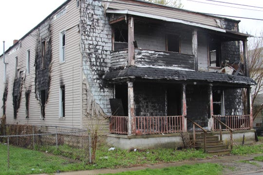 Fire investigators have not ruled out arson as the cause of a fire that broke out Thursday night at this vacant apartment complex at 243 W. Pleasant St. The building suffered preexisting damage from a fire reported there in 2015, said Marion City Fire Platoon Chief Paul Glosser.