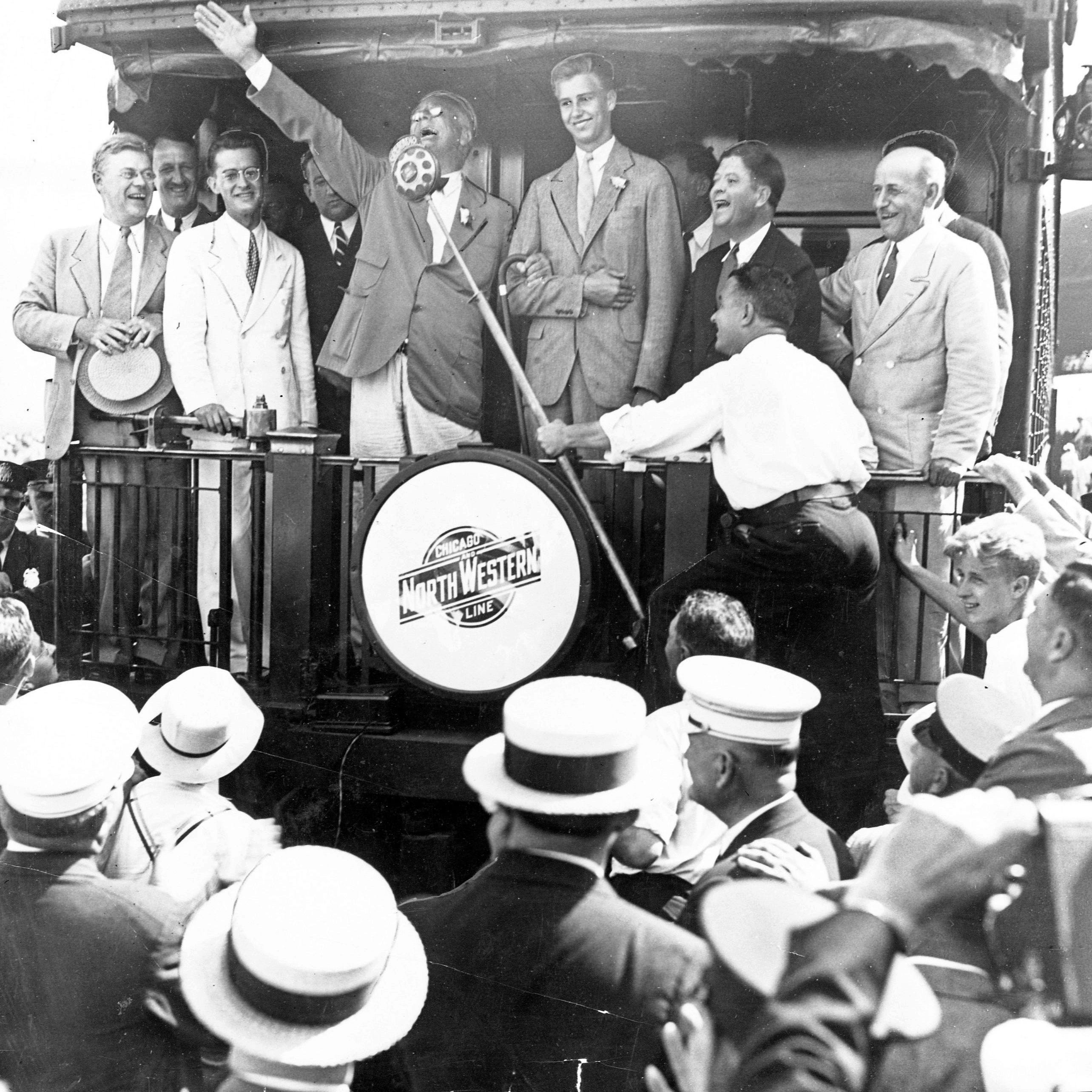 Cheese jokes, huge crowds, floral couches: Five times sitting presidents visited Wisconsin
