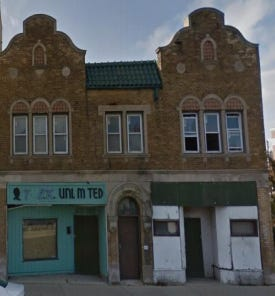 A vacant building on King Drive would be redeveloped with a Jamaican restaurant and two renovated apartments.