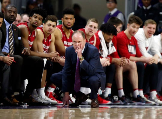 Greg Gard has compiled a 45-29 record (.608) in Big Ten play and an overall mark of 80-47 (.630) at Wisconsin.
