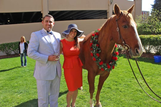 The Kentucky Derby party at the Monarch Lounge Saturday will include two- and four-legged guests.