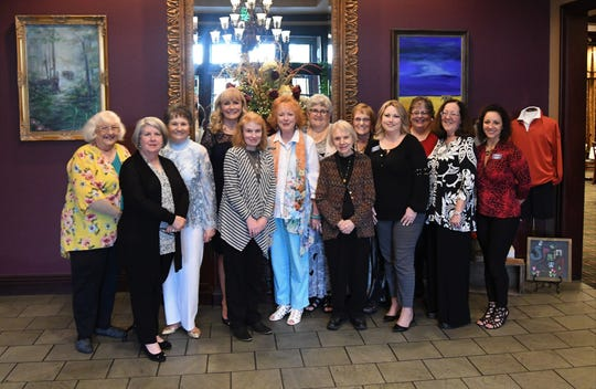 Members of the Mountain Home Business & Professional Women gather for a group photo Thursday night following the group's Legacy Banquet at Big Creek Golf & Country Club.