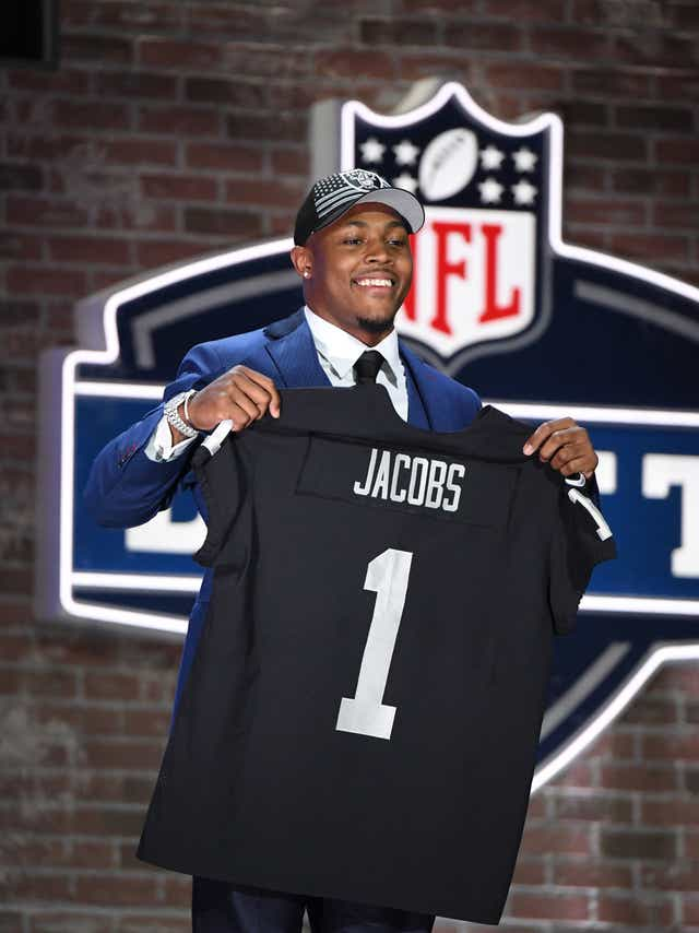 Alabama S Josh Jacobs Is First Running Back Selected In Nfl Draft