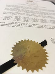 A state proclamation honors Montgomery teen-run restaurant That's My Dog Jr.