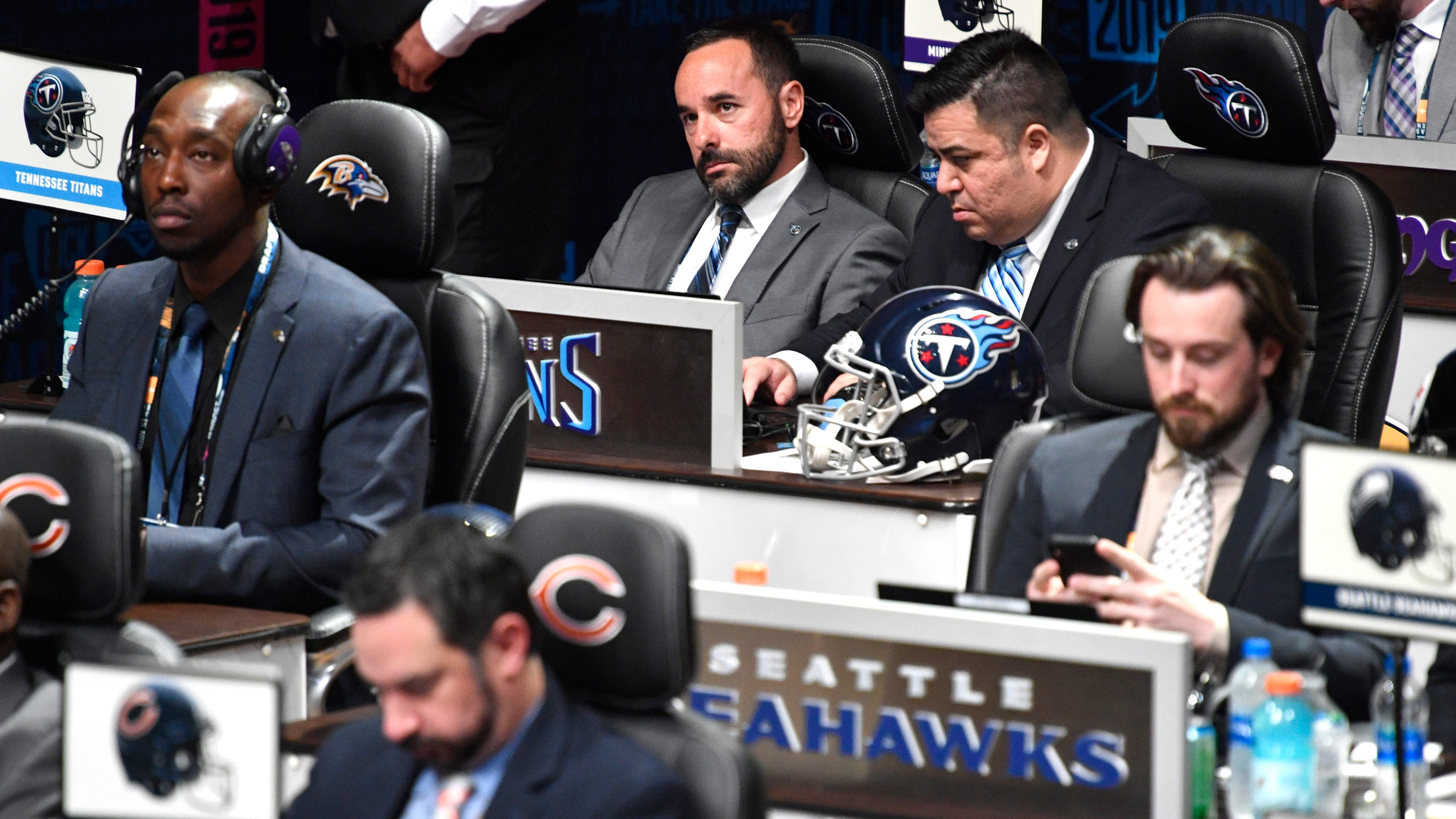 1a8eb7765 NFL Draft  Titans picks are in these staff members  hands