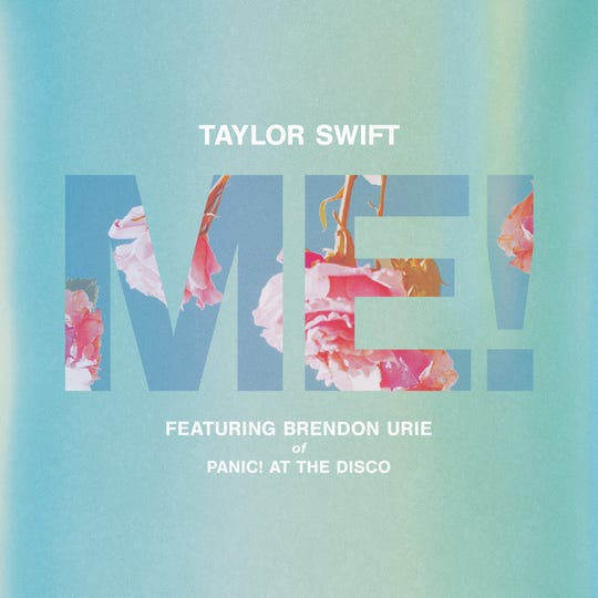 Taylor Swift's new song 'ME!' features Brendon Urie of Panic! At The Disco