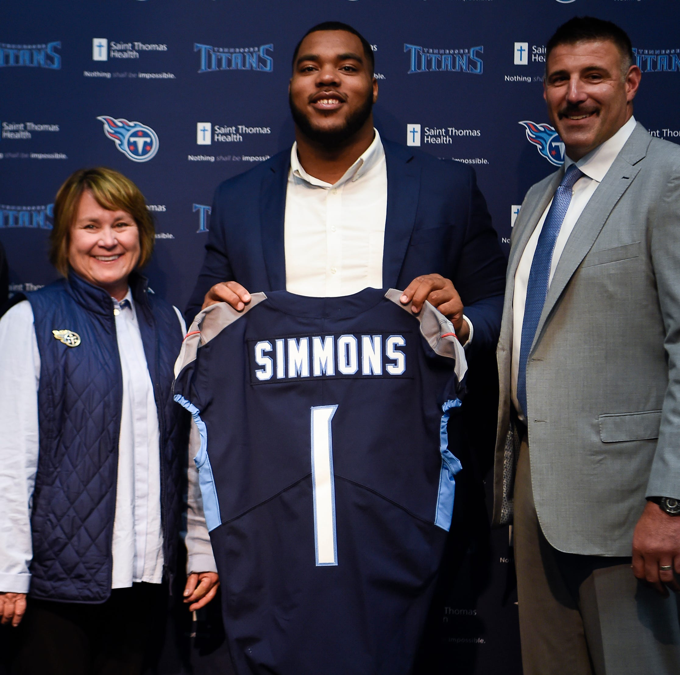 How did Titans decide on Jeffery Simmons? Research, calculated risk and a lot of faith