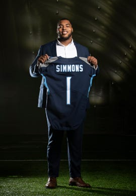 Report: Titans activating first-round pick Jeffery Simmons for Week 7 vs. Chargers