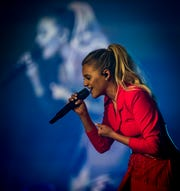 "Country-pop singer, Kelsea Ballerini brought her first arena-headlining tour ""Miss Me More"" to Hertz Arena in Estero, FL, April 25, 2019. The concert was sold out."