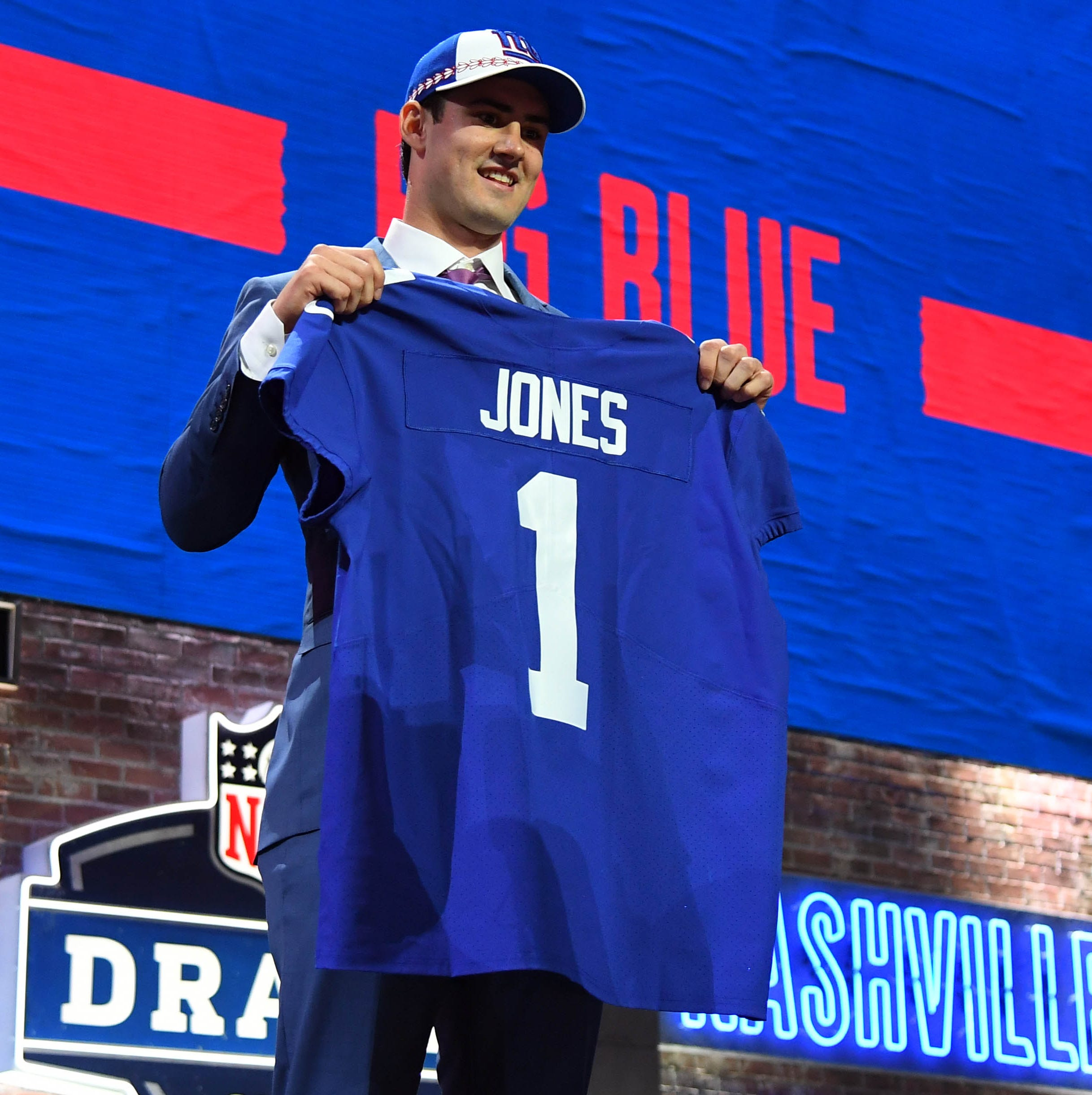 NFL Draft: NY Giants fans take to Twitter to react Daniel Jones pick