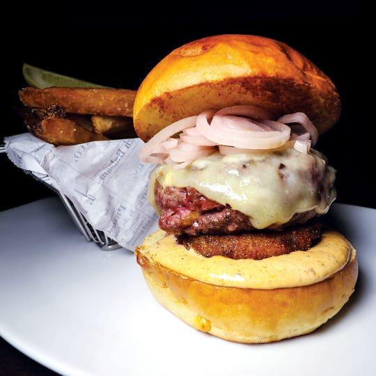 AKB Burger from Ariane Kitchen and Bar, Verona.