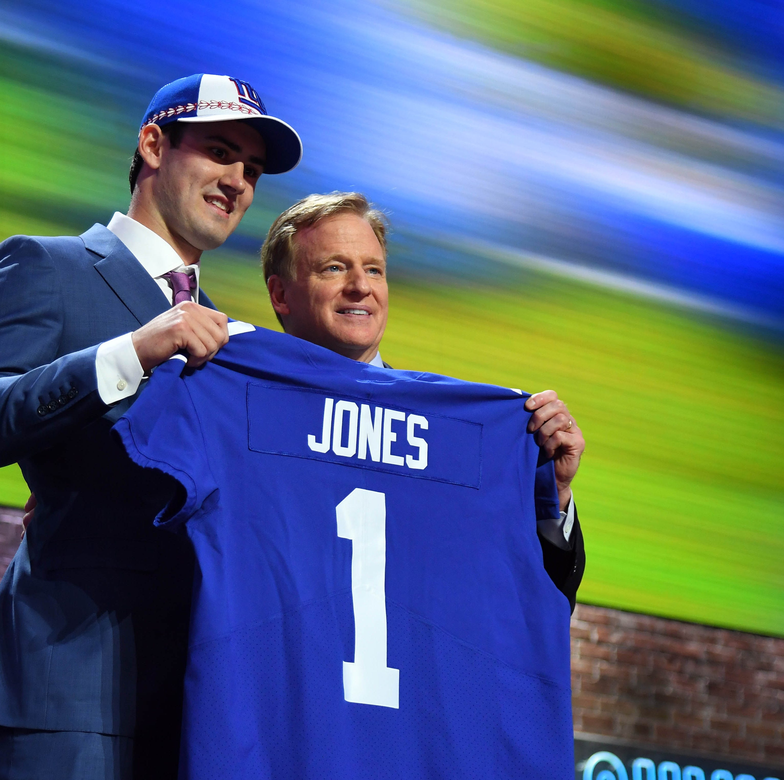 Giants take Daniel Jones with the No. 6 pick in the NFL Draft
