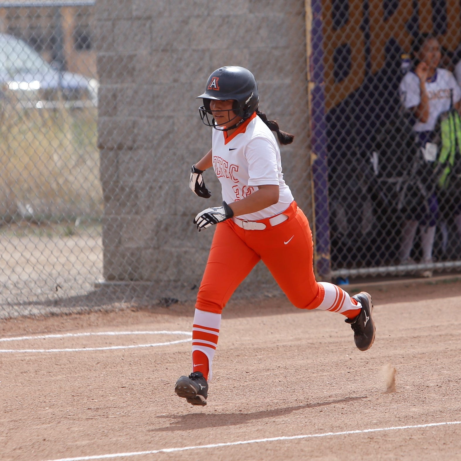 Aztec softball 1 win away from district title